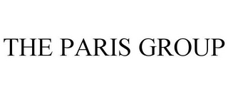 mark for THE PARIS GROUP, trademark #85287163