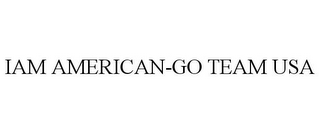mark for IAM AMERICAN-GO TEAM USA, trademark #85287420