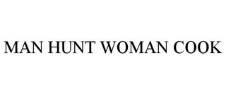 mark for MAN HUNT WOMAN COOK, trademark #85287627