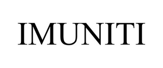 mark for IMUNITI, trademark #85287876