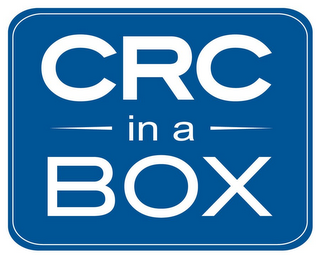 mark for CRC IN A BOX, trademark #85288939