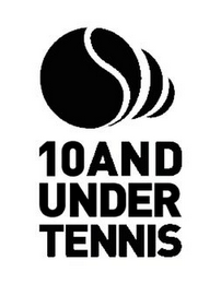 mark for 10ANDUNDERTENNIS, trademark #85289072