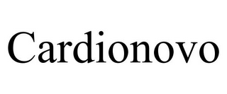 mark for CARDIONOVO, trademark #85289339