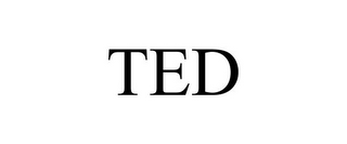 mark for TED, trademark #85290275