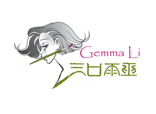 mark for GEMMA LI, trademark #85292342