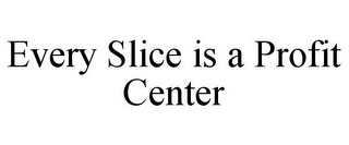 mark for EVERY SLICE IS A PROFIT CENTER, trademark #85292927