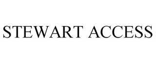 mark for STEWART ACCESS, trademark #85293011