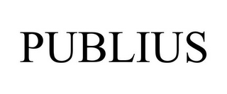 mark for PUBLIUS, trademark #85293097