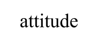 mark for ATTITUDE, trademark #85293552