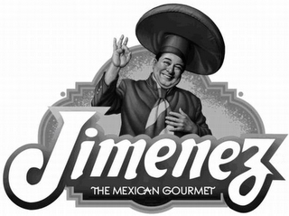 mark for JIMENEZ THE MEXICAN GOURMET, trademark #85294179