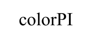 mark for COLORPI, trademark #85294737