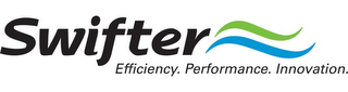 mark for SWIFTER EFFICIENCY. PERFORMANCE. INNOVATION., trademark #85295524