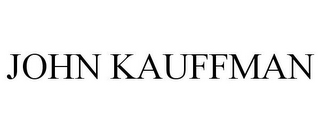 mark for JOHN KAUFFMAN, trademark #85295538