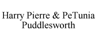 mark for HARRY PIERRE & PETUNIA PUDDLESWORTH, trademark #85295656