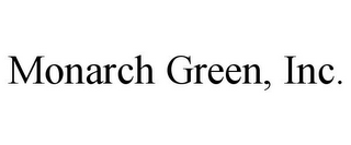 mark for MONARCH GREEN, INC., trademark #85296406
