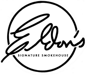 mark for ELDON'S SIGNATURE SMOKEHOUSE, trademark #85298489
