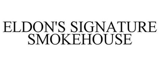 mark for ELDON'S SIGNATURE SMOKEHOUSE, trademark #85298509