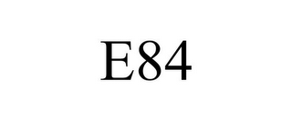 mark for E84, trademark #85298683