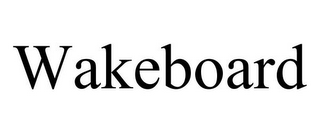 mark for WAKEBOARD, trademark #85299068