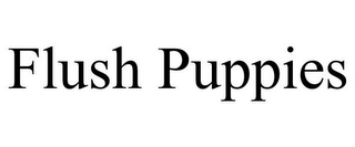 mark for FLUSH PUPPIES, trademark #85300436