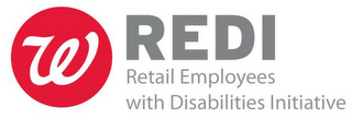 mark for REDI RETAIL EMPLOYEES WITH DISABILITIES INITIATIVE W, trademark #85301017