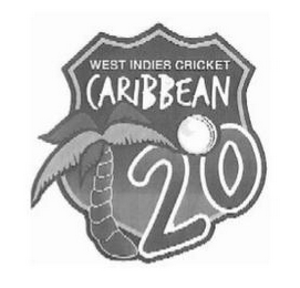 mark for WEST INDIES CRICKET CARIBBEAN T20, trademark #85302427