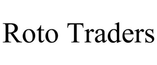 mark for ROTO TRADERS, trademark #85303563