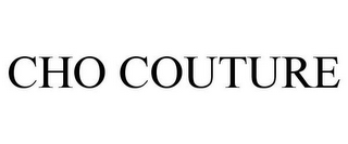 mark for CHO COUTURE, trademark #85303790