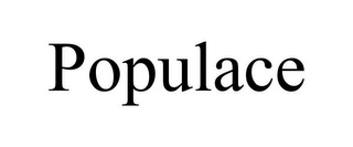 mark for POPULACE, trademark #85303803