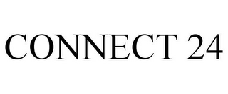 mark for CONNECT 24, trademark #85303857