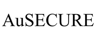 mark for AUSECURE, trademark #85304337