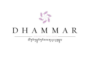 mark for DHAMMAR JEWELRY BY PAOLA SAAD, trademark #85304531