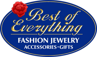 mark for BEST OF EVERYTHING FASHION JEWELRY ACCESSORIES GIFTS, trademark #85304577