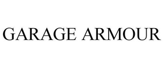 mark for GARAGE ARMOUR, trademark #85305509
