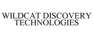 mark for WILDCAT DISCOVERY TECHNOLOGIES, trademark #85305876