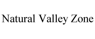 mark for NATURAL VALLEY ZONE, trademark #85307098