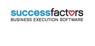 mark for SUCCESSFACTORS AND BUSINESS EXECUTION SOFTWARE, trademark #85307639