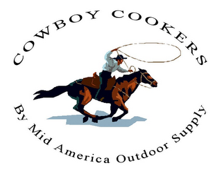 mark for COWBOY COOKERS BY MID AMERICA OUTDOORS SUPPLY, trademark #85307730