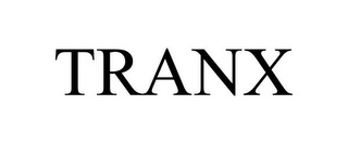 mark for TRANX, trademark #85309081