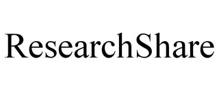 mark for RESEARCHSHARE, trademark #85309317