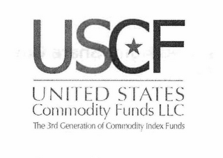 mark for USCF UNITED STATES COMMODITY FUNDS LLC THE 3RD GENERATION OF COMMODITY INDEX FUNDS, trademark #85310010