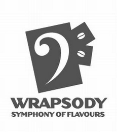 mark for WRAPSODY SYMPHONY OF FLAVOURS, trademark #85310116