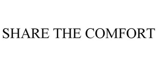 mark for SHARE THE COMFORT, trademark #85310675
