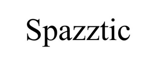 mark for SPAZZTIC, trademark #85310883