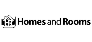 mark for HR HOMES AND ROOMS, trademark #85311357
