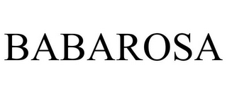 mark for BABAROSA, trademark #85311851
