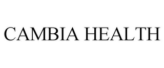 mark for CAMBIA HEALTH, trademark #85312028