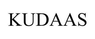 mark for KUDAAS, trademark #85312183