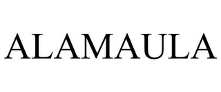 mark for ALAMAULA, trademark #85312431