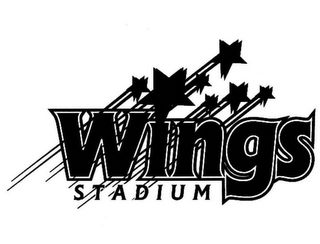 mark for WINGS STADIUM, trademark #85312463